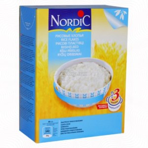 Каша Nordic Рисовые хлопья фото