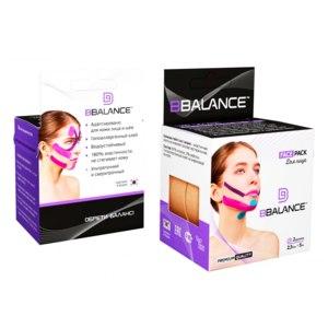 Кинезио тейпы для лица BB Face Tape  (BBalance) фото