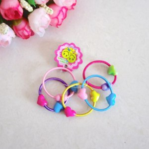 Резинки и заколки AliExpress 50 pcs. / Lot wholesale baby children bandage on head mini eraser girl hair candy rope string tie band Hair Accessories фото