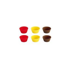Силиконовая форма для выпечки  TESCOMA Корзинки силиконовые для кексов фото