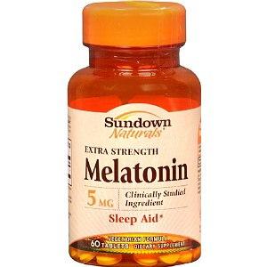 Снотворное  Sundown Naturals Melatonin 5 mg фото