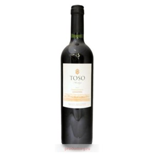 Вино красное сухое TOSO  Temparnillo 2012   фото