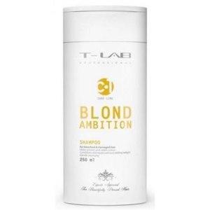 Шампунь T-lab  для блондированных и поврежденных волос Professional Blond Ambition Shampoo фото