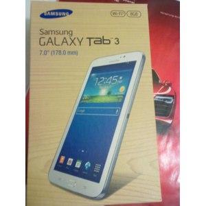 Планшет Samsung Galaxy Tab 3  7''0    8 GB  white  WI-FI    (фото) фото