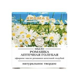 Косметическое мыло Aroma'Saules Ромашка аптечная голубая  фото