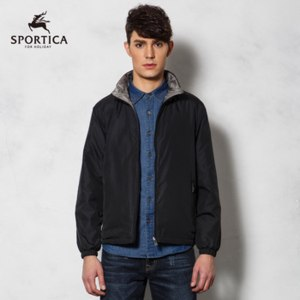 Куртка AliExpress Sportica 2013 men's reversible cotton padded jacket  фото