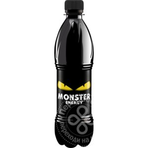 Энергетический напиток MONSTER ENERGY YELLOW фото