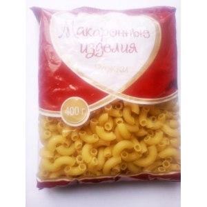 Макаронные изделия Кубанский комбинат хлебопродуктов Макароны рожки фото