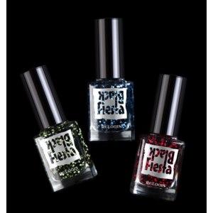 Лак для ногтей Relouis / Релуи Black FIesta фото