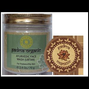 Аюрведический травяной Убтан Padma Organic Для умывания проблемной кожи фото