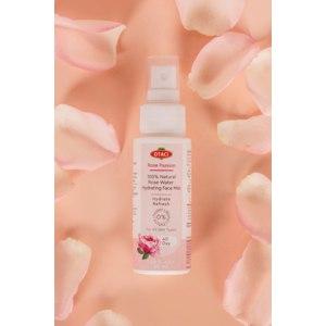 Увлажняющий спрей OTACI Страстная роза 100% Розовая вода.  фото