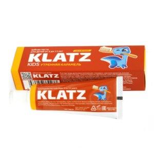 Детская зубная паста Klatz Утренняя карамель для детей от 5 до 11лет фото