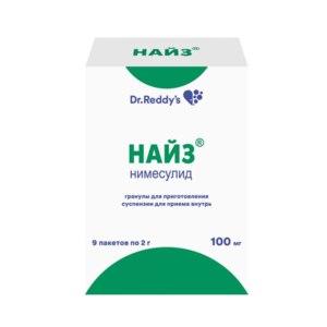Нестероидное противовоспалительное средство Dr. Reddy's Найз Нимесулид гранулы для приготовления суспензии для приема внутрь  фото