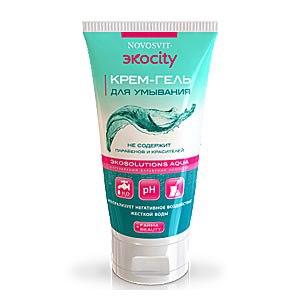 Крем-гель для умывания NOVOSVIT Экоcity фото