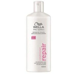 """Бальзам - ополаскиватель Wella PRO SERIES """"REPAIR"""" для восстановления и ухода за поврежденными волосами фото"""