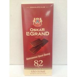 Шоколад Oskar le Grand Горький шоколад фото