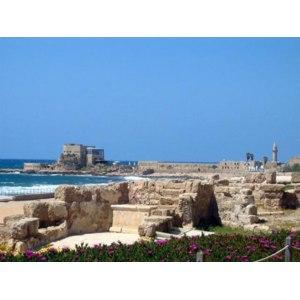 город Кесария, Израиль фото