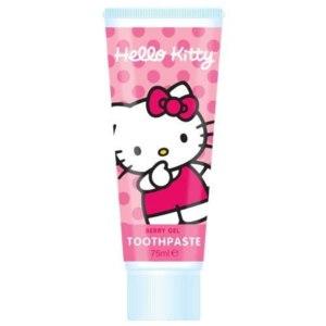 Детская зубная паста Hello Kitty Strawberry Gel Toothpaste 75ml фото