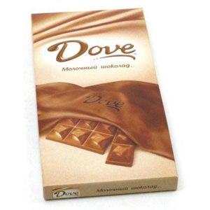 Шоколад Dove Молочный  фото