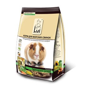 Корм для морских свинок  Lui Premium фото