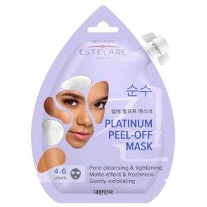 Маска-пленка для кожи лица Institute Estelare Платиновая матирующая, Platinum peel-off mask  фото