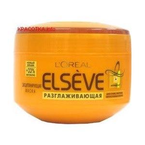 Маска для волос L'Oreal Elseve Разглаживающая Нутрилеум фото