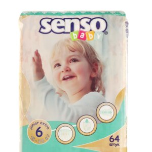 Подгузники Senso baby junior extra 6 фото