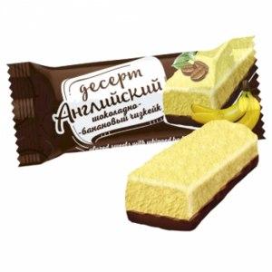 Конфеты глазированные Невский Кондитер Десерт Английский шоколадно-банановый фото