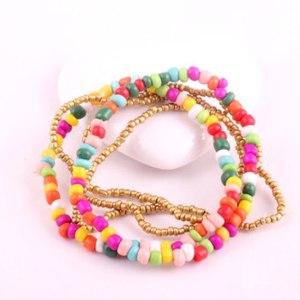 Браслет Aliexpress  Алиэкспресс 62H10 Fashion colorful Bosnian Ethnic Beads bracelet Jewelry ! фото