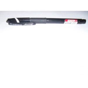 Ручка гелевая Berlingo POWERTX черная 0.48 мм резиновый грип фото