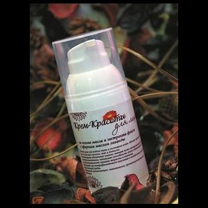 Крем для лица Крем-Красоты на основе масла и экстракта фукуса с эфирным маслом лаванды фото