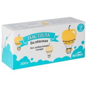 Пастила ВкусВилл / Избёнка Белёвская без добавления сахара фото