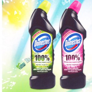 Чистящее средство Domestos 100% фото