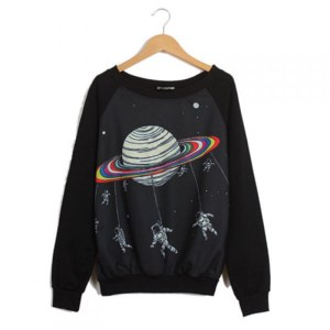 Кофта Ebay  Harajuku Saturn Astros Sweater  фото