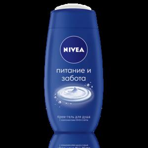 ce6ce726e142 Крем-гель для душа NIVEA питание и забота | Отзывы покупателей