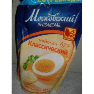 Майонез МЖК  Московский Провансаль Классический фото