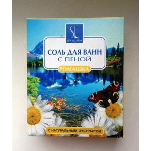 Соль для ванн SPA by LARA Соль для ванн с пеной Ромашка фото