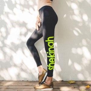 Бриджи Gearbest Female Yoga Sports Pants for Autumn Winter  фото
