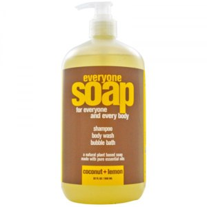 Бальзам для рук и тела EO Products Everyone Soap for Every Body, 3 in 1, Coconut + Lemon фото
