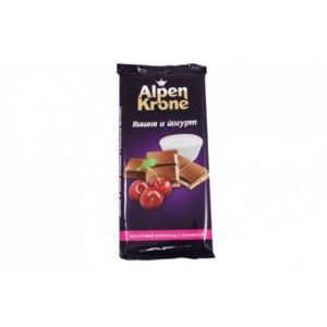 Шоколад Alpen Krone Вишня и йогурт фото