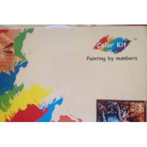 Раскраска Color kit Painting by numbers фото