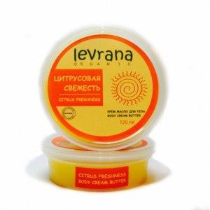 Крем-масло для тела Levrana Цитрусовая свежесть фото