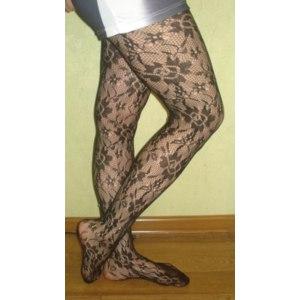 Колготки AliExpress free shipping: Sexy Women Soft Tights Fashion Rose Lace Pattern Jacquard Pantyhose Stockings фото