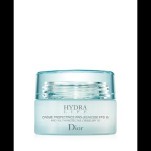 Крем для лица Dior Hydra Life Pro-Youth Protective Creme SPF15  Увлажняющий защитный крем, предупреждающий старение кожи  (для нормальной и сухой кожи) фото