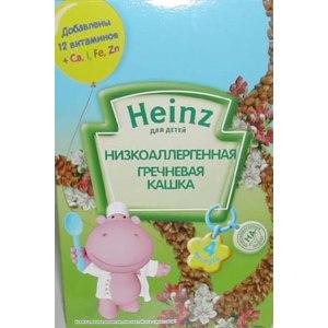 Каша Heinz низкоаллергенная гречневая фото