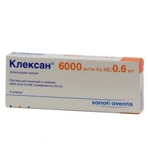 Лекарственный препарат   Клексан фото