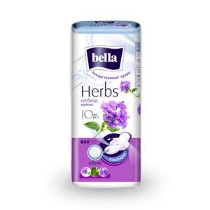 Прокладки Bella Herbs  verbena вербена 10 штук  фото