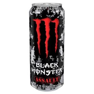 Энергетический напиток Black Monster Assault фото