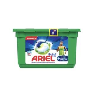 """Капсулы для стирки Ariel PODS """"Всё в 1"""" +Экстра защита от запаха фото"""