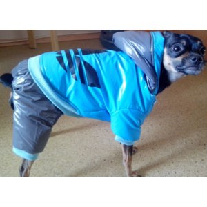 Одежда для собак Aliexpress 2014 Rushed New Clothing Dog Harness Pet Dog Clothes Coat Hoodie Thicken Winter Down Jackets Patchwork S,m,l,xl,xxl Wholesale фото